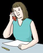 Kontakt per Telefon